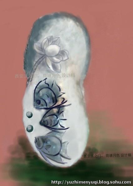 玉石雕刻设计图稿 - 玉之门的博客
