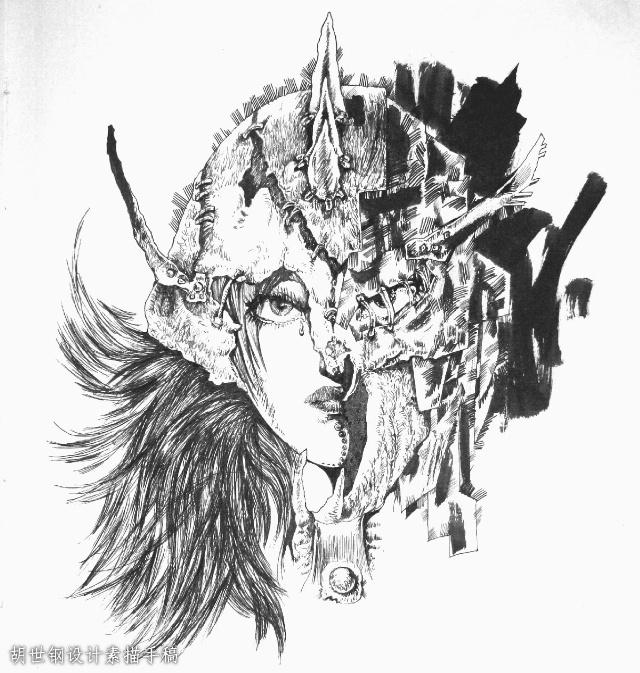 胡世钢设计素描手稿(七)1/?图片