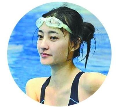 素颜女神王丽坤跳水更美(图)