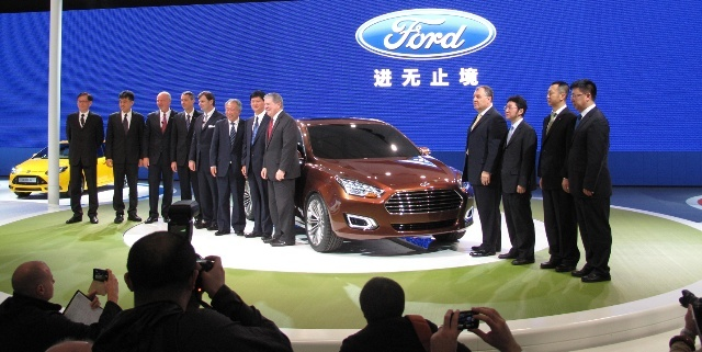 进无止境 福特在中国定当后来居上高清图片