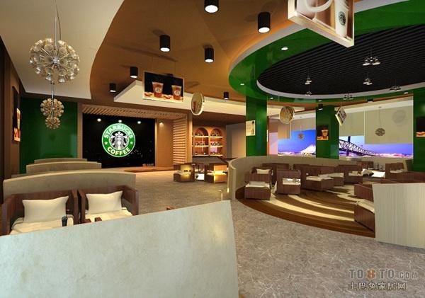 西式咖啡廳前臺的設計可以玩轉地球