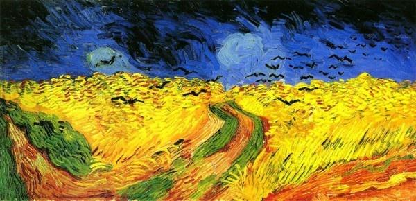 《乌鸦群飞的麦田》