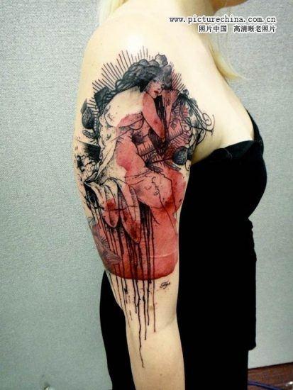 法国纹身大师的杰作(现代照片)图片