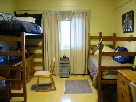 美国大学宿舍大部分都允许学生