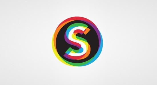多种色彩的标志设计